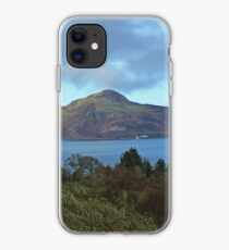 Holy Isle view iPhone Case
