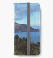 Holy Isle view iPhone Wallet/Case/Skin