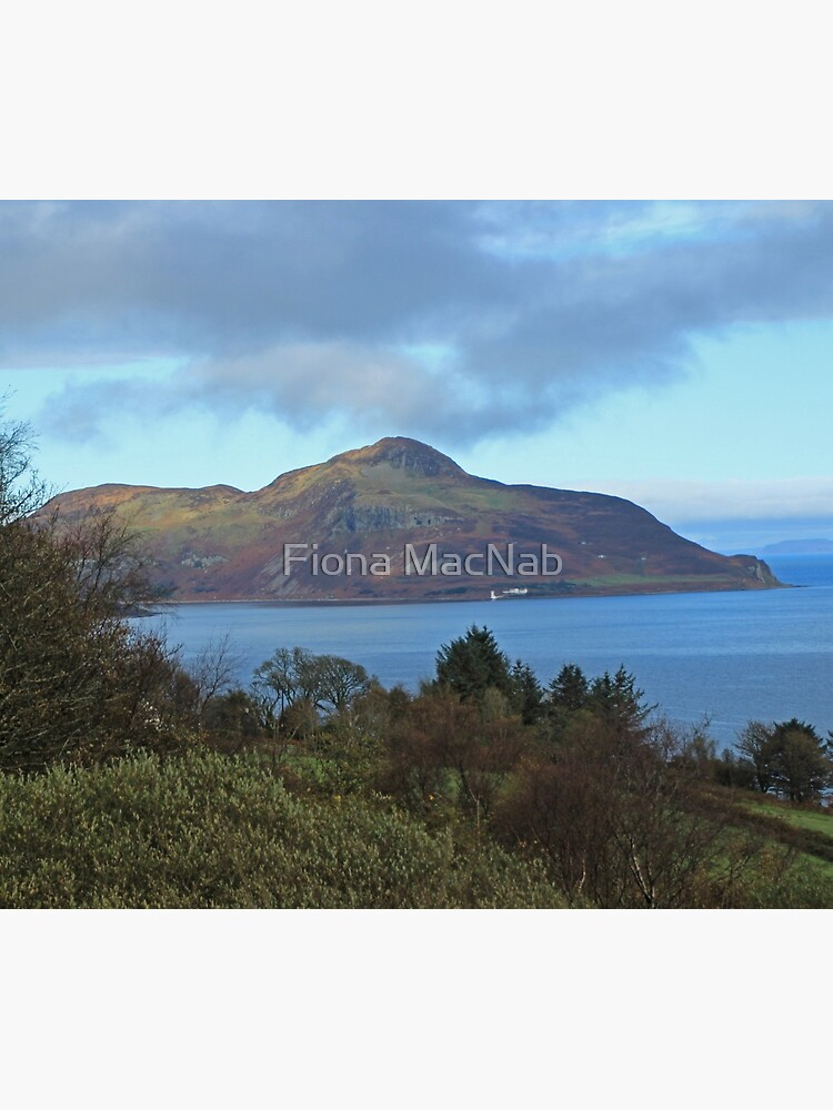 Holy Isle view by orcadia