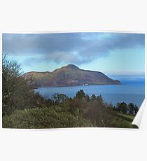 Holy Isle view Poster