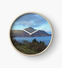 Holy Isle view Clock