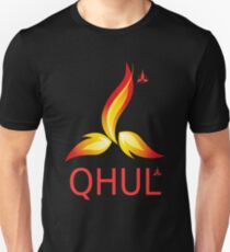 QHUL - health IT for real warriors Slim Fit T-Shirt