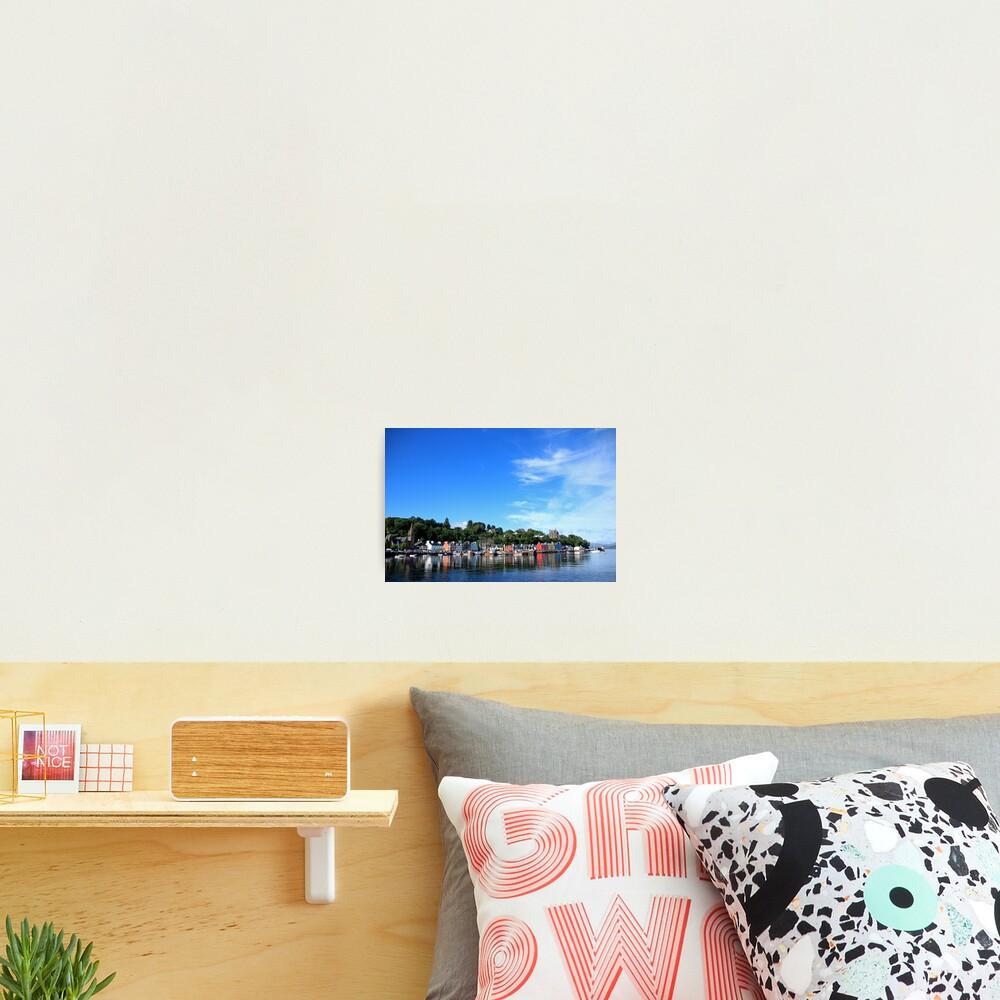 Blue Sky in Balamory Photographic Print