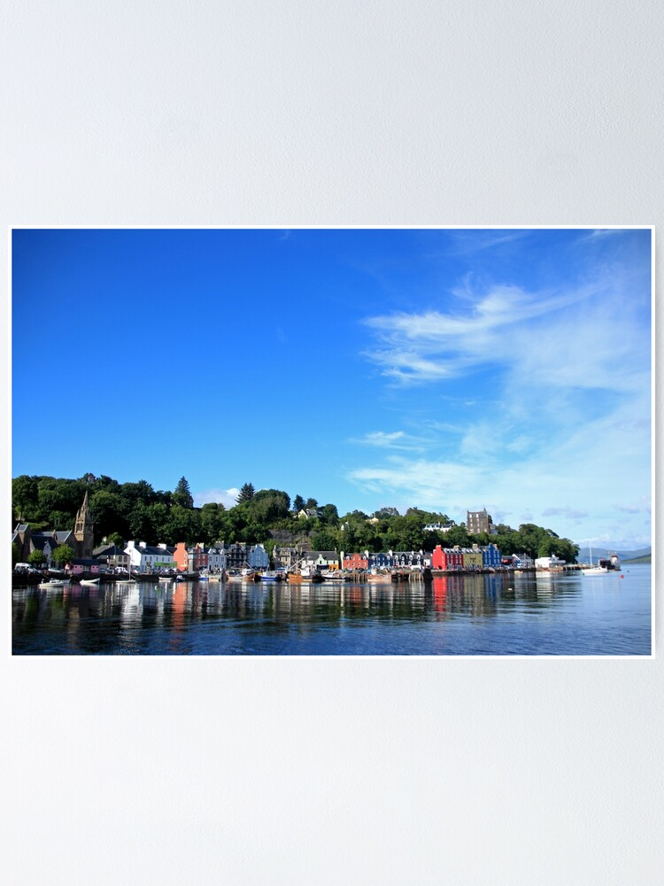 Alternate view of Blue Sky in Balamory Poster