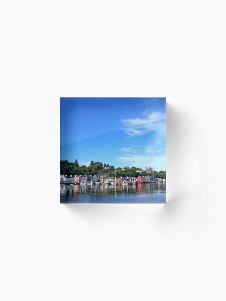 Alternate view of Blue Sky in Balamory Acrylic Block