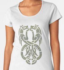 Celtic Water Kelpie-Green Version Premium Scoop T-Shirt