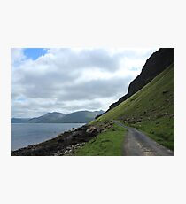Island road Photographic Print