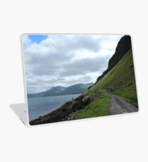 Island road Laptop Skin