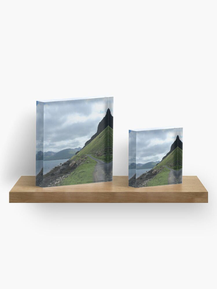 Alternate view of Island road Acrylic Block
