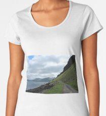 Island road Premium Scoop T-Shirt