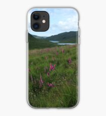Field of foxgloves II iPhone Case