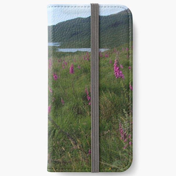 Field of foxgloves II iPhone Wallet