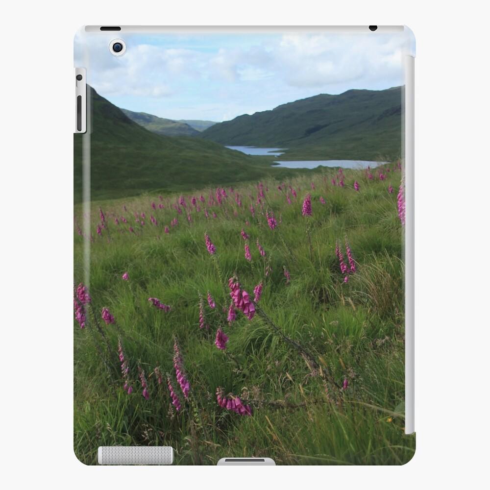 Field of foxgloves II iPad Case & Skin