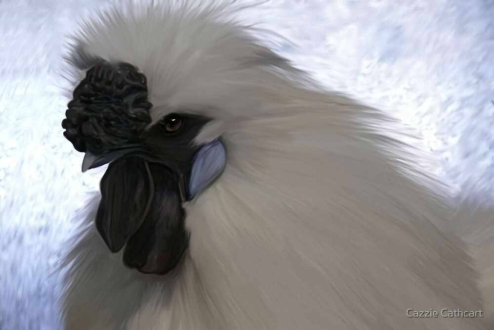 Silkie Bantam by Cazzie Cathcart
