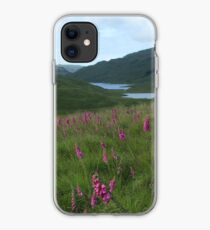 Field of foxgloves I iPhone Case