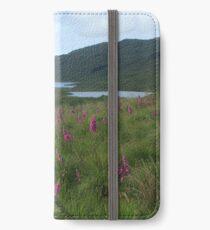 Field of foxgloves I iPhone Wallet/Case/Skin