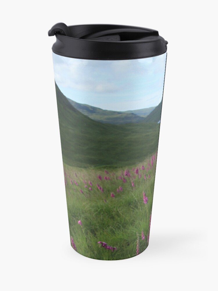 Alternate view of Field of foxgloves I Travel Mug