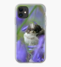 Bird in the blue iPhone Case