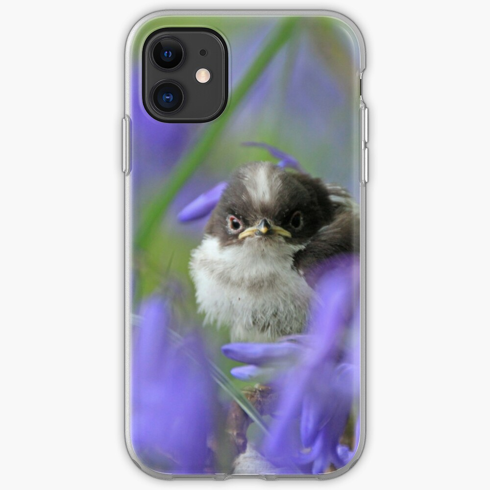 Bird in the blue iPhone Case & Cover