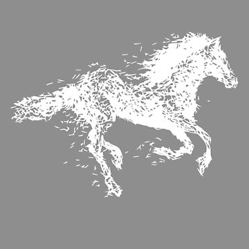 Wild Horse Gift For Horse Lovers, Horse T-Shirt, Cute Gifts With Beautiful Horse by Stella1
