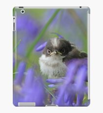 Bird in the blue iPad Case/Skin