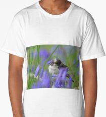 Bird in the blue Long T-Shirt