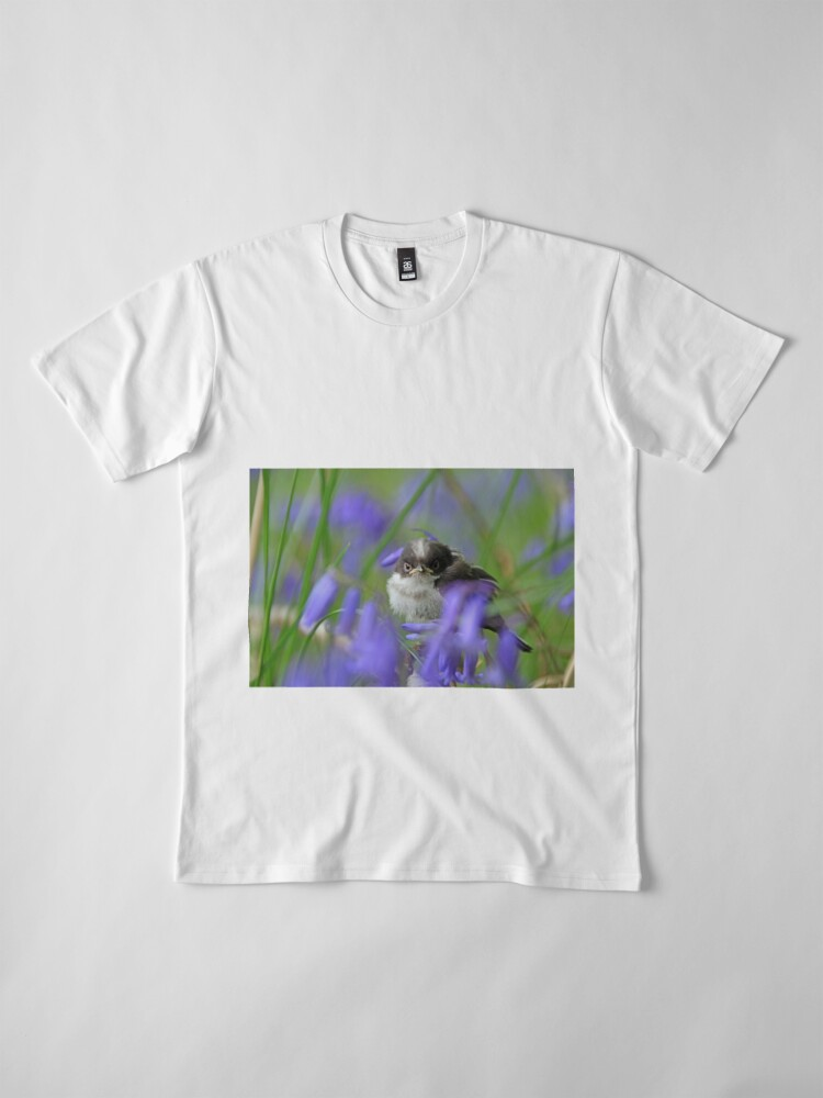 Alternate view of Bird in the blue Premium T-Shirt