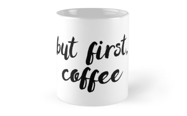 But first, coffee by brandoff