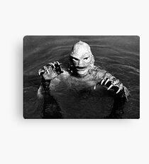 creature lagoon  Canvas Print