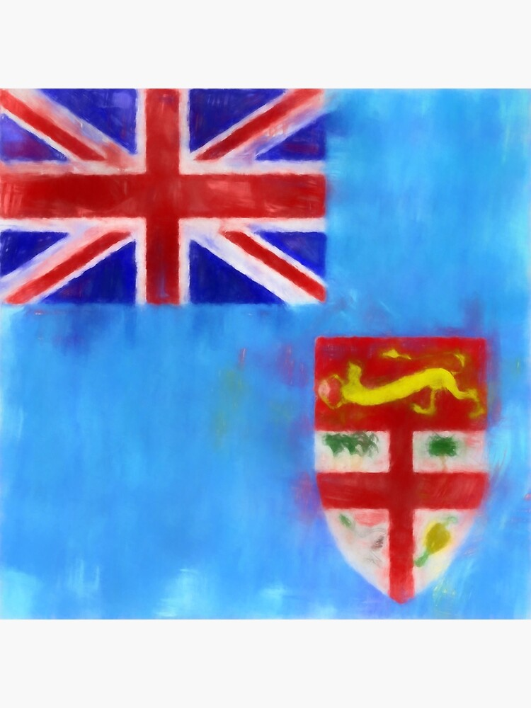 Fiji Flag Reworked No. 1, Series 1 by 8th-and-f
