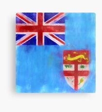 Fiji Flag Reworked No. 1, Series 1 Metalldruck
