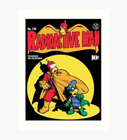 Radioactive Man No. 9 Art Print