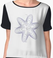 Spiral: Six-Pointed Star Chiffon Top