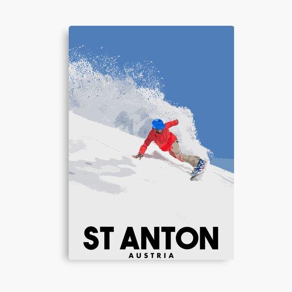 ST ANTON - Austria Canvas Print