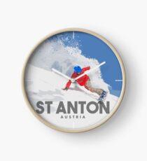 ST ANTON - Österreich Uhr