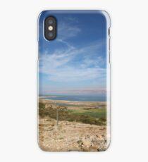landscape around the Dead sea iPhone Case/Skin