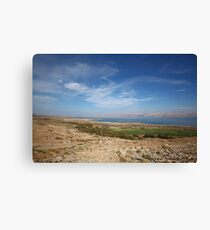 landscape around the Dead sea Canvas Print