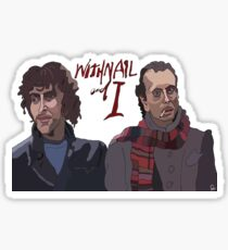 Withal and I  Sticker