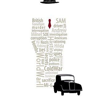 Foyle's War Typography by dapperc