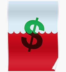 The Sinking Dollar Poster