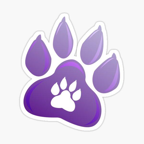 Dog paw 2018 New Year Sticker
