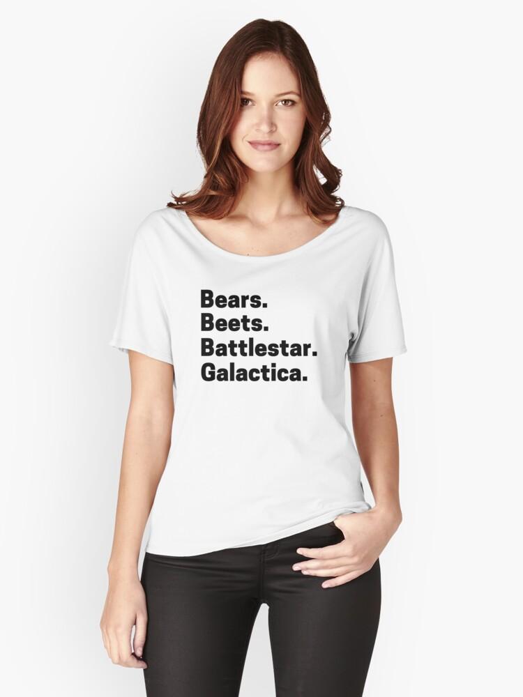 Bears Beets Battlestar Galactica Episode
