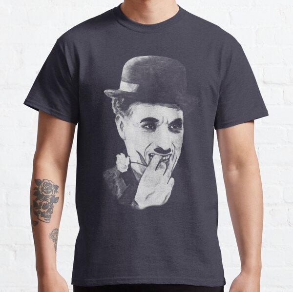 Chaplin white Camiseta clásica
