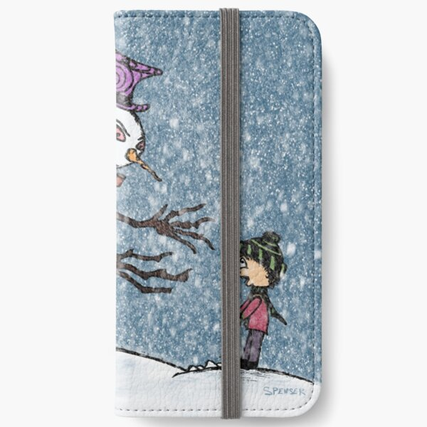 The Snowman iPhone Wallet