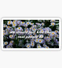 Hozier Lyrics Sticker