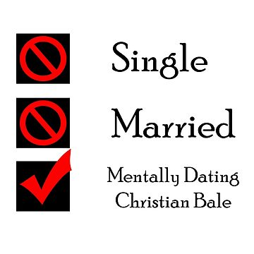 Mentally Dating Christian Bale by wasabi67