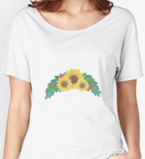 Sunflower Cluster Relaxed Fit T-Shirt