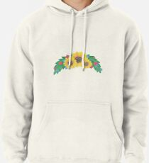 Sunflower Cluster Pullover Hoodie
