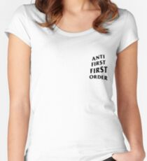 Anti First Order Women's Fitted Scoop T-Shirt