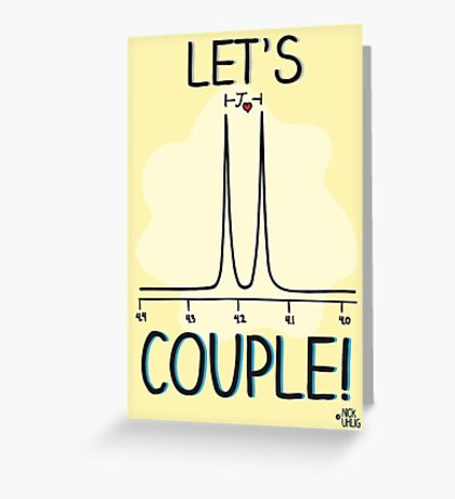 Let's couple! Greeting Card
